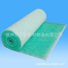 玻璃絲綿 漆霧氈 玻纖棉 綠白色地棉棉 山東過濾棉生產廠家