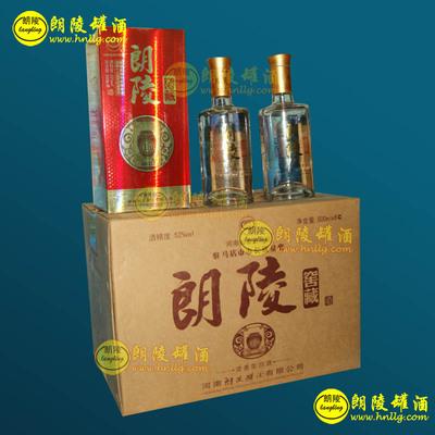 朗陵罐酒朗陵窖藏52度500ml*6瓶装