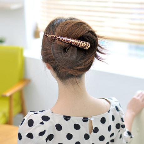 Phiên bản tiếng Hàn của clip mới da báo clip kèn lớn mỏ vịt clip kẹp tóc kẹp phụ nữ tóc phụ kiện bán buôn gian hàng cung cấp