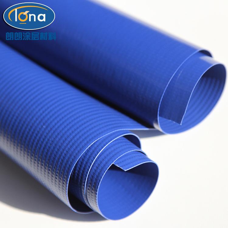 PVC刀刮样  环保PVC防水涂层布  PU四面弹  针织布涂层