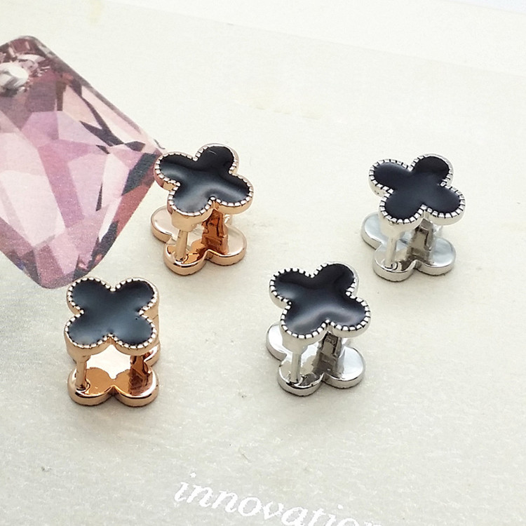 Fashion Pop Earrings Fine Diamond Clover Earrings High-end Jewelry NHLJ193312