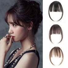 Tóc giả nữ thời trang, tóc mái Hàn Quốc, kiểu trẻ trung