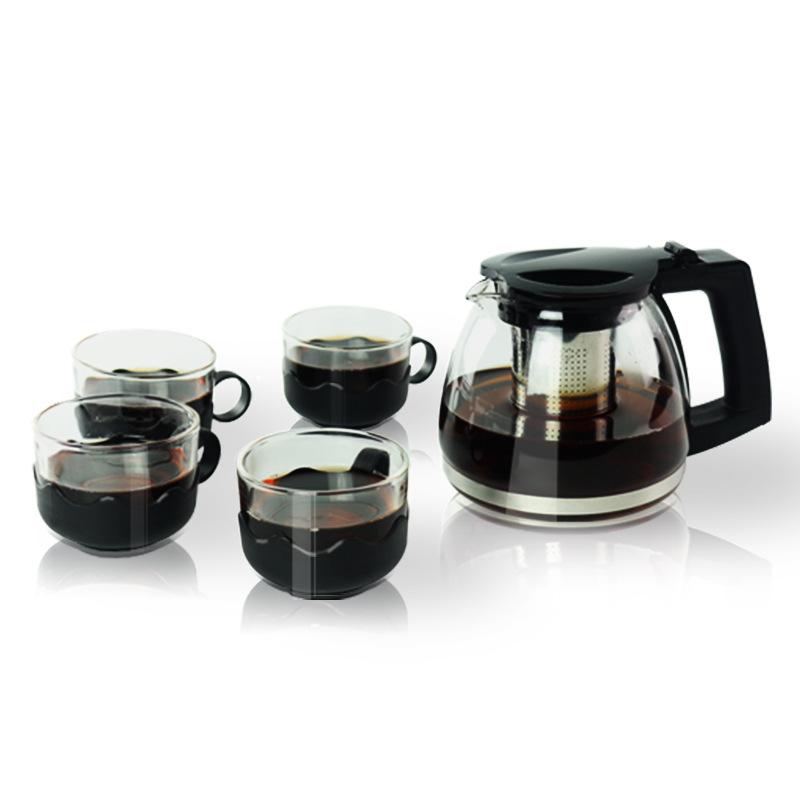 新款创意旅行茶具 耐高温玻璃茶壶套装功夫茶花茶冲茶壶礼品定制