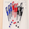 Wholesale neutral pen carbon water pen 0.5mm European standard pen nose bullet tube 0.5mm signature pen test special