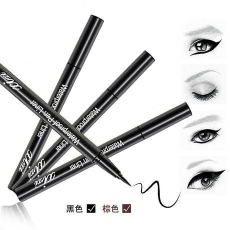 韓國正品化妝品 持久防水不暈染硬頭清晰媚眼液體眼線筆 眼線液工廠,批發,進口,代購