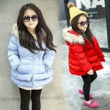 冬装新款女童韩版宝宝棉衣外套加绒童装2019中小童加厚棉袄棉服