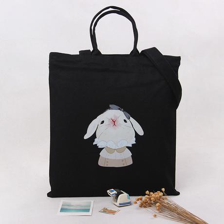 A90 tùy chỉnh sáng tạo dễ thương in túi vải vai Sen túi vải đơn giản Cao đẳng gió sinh viên nữ