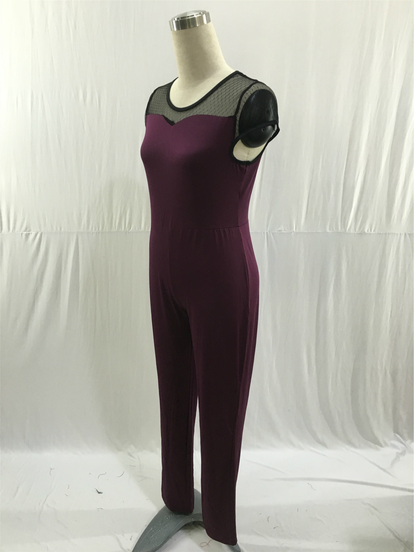 ec59bb75c95c ... L-4XL plus size Summer sexy Long Jumpsuits bodysuit Overalls Big Fat  Women super big. IMG 2235 IMG 2236