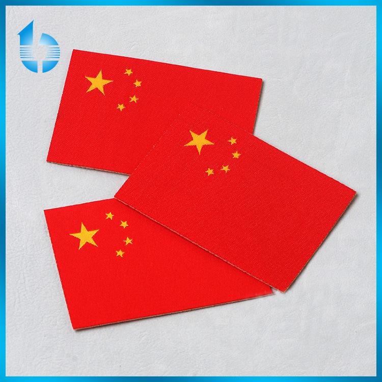 免费打样 厂家直销 定制款高档中国国旗布标 织唛布标 包邮