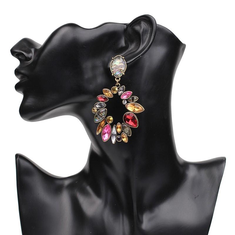 Alloy Fashion Geometric earring  Photo Color NHJJ4170Photo Color