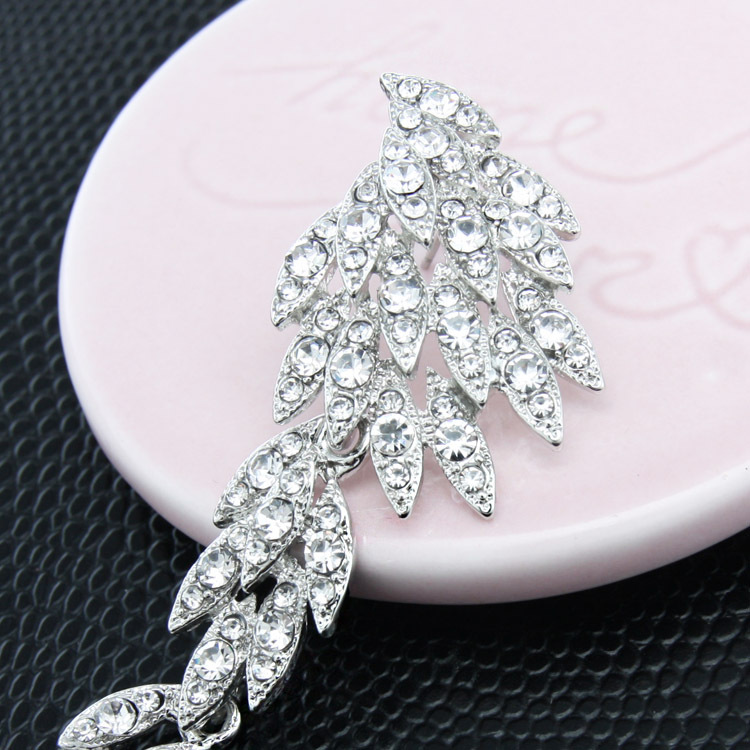 Alloy Korea Animal earring  white  Fashion Jewelry NHAS0612white