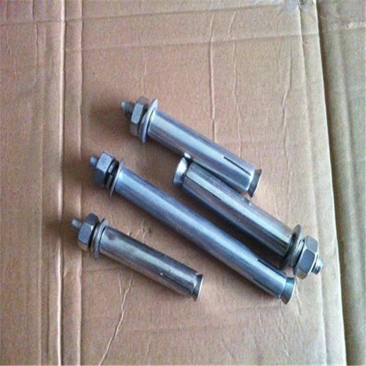 厂家生产:镀锌膨胀栓,订做热镀锌表面处理M8-M12膨胀螺丝