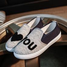 现货供应2018新款韩版浅口圆头平底小单鞋休闲女鞋批发一件代发