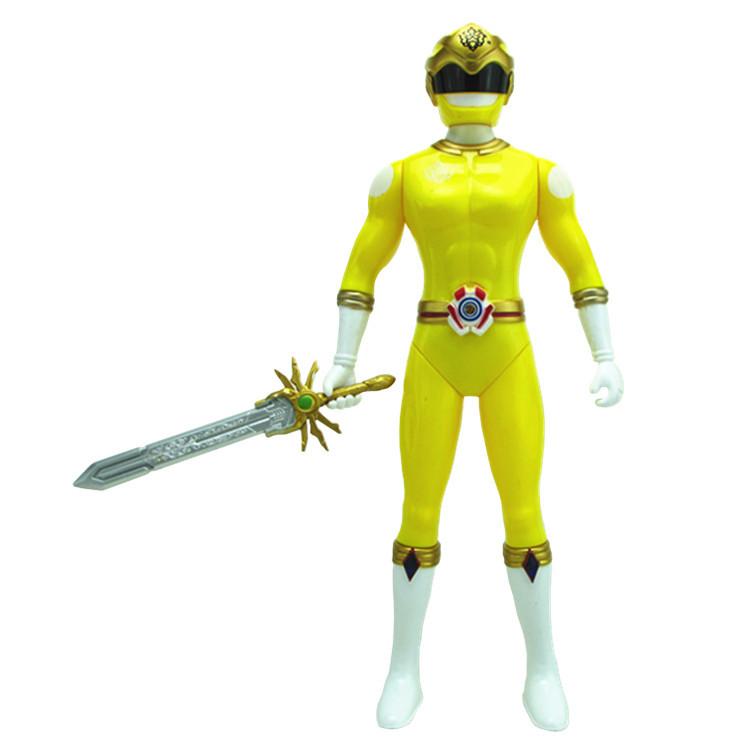 神兽金刚3变形玩具  关节可动机器人带武器模型发光发声