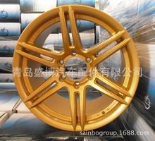 铝合金轮毂 盛博工厂铝合金轮毂 金色白色改装款轮毂