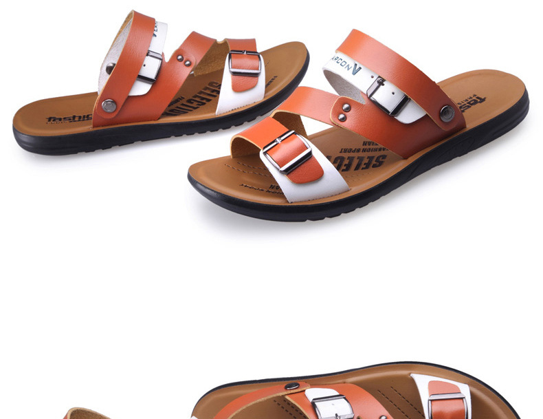men s summer sandals shoes open toed flat sports casual