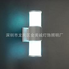 LED户外双头单头壁灯 防水防潮射灯 走廊灯阳台灯 庭院灯饰灯具厂