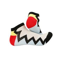 彩色女式棉袜 纯棉短袜女士棉袜 品牌女袜 原创品牌袜子定做