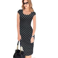 2020亞馬遜爆款女裝 夏季時尚方領性感修身印花包臀連衣裙鉛筆裙Q