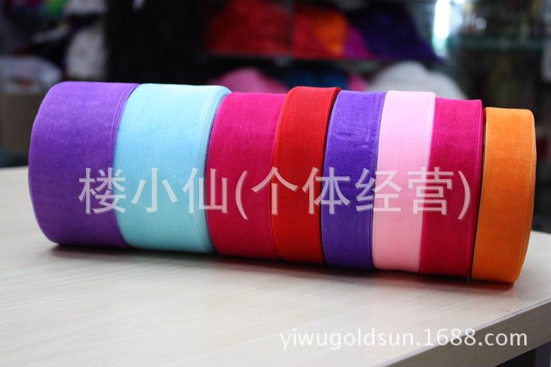 现货各尺寸透明丝带纱带彩色雪纱带DIY手工饰品配件飘带包装批发