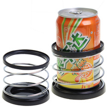 SD-1004 Auto Accessories Car Instrument Panel Spring Cup Holder Cup Holder Drink Holder Coke Bracket