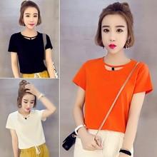 Áo thun nữ thời trang, phong cách Hàn Quốc, kiểu dáng nữ tính