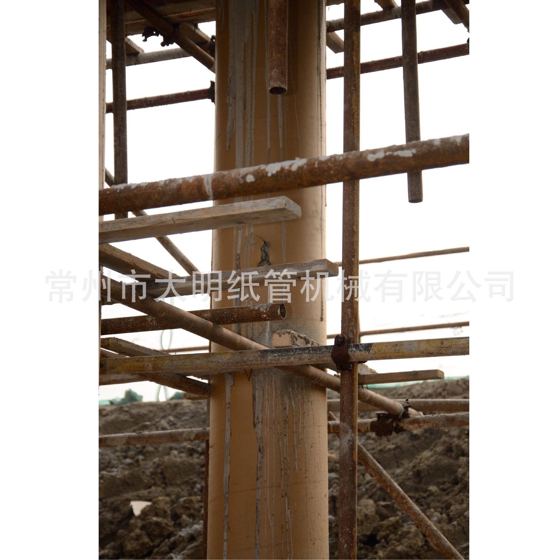 专业供应直径750mm的混凝土圆柱纸模