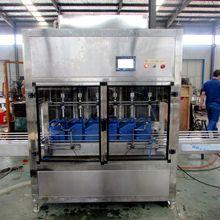 全自动活塞式灌装机  酸奶乳制品灌装 果汁灌装生产线 伺服灌装机