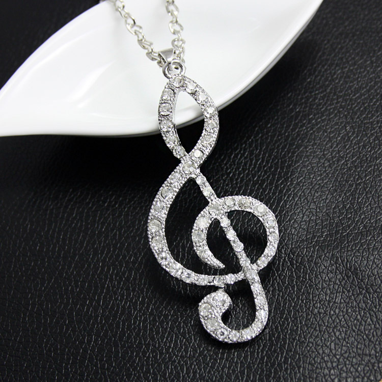 Womens note plating alloy ocesrio Necklaces NHAS120926