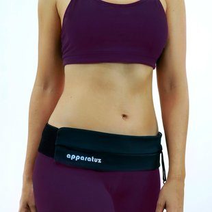 Running touch screen sports waist bag Fitness leisure belt Personal soft fit mobile phone pouch