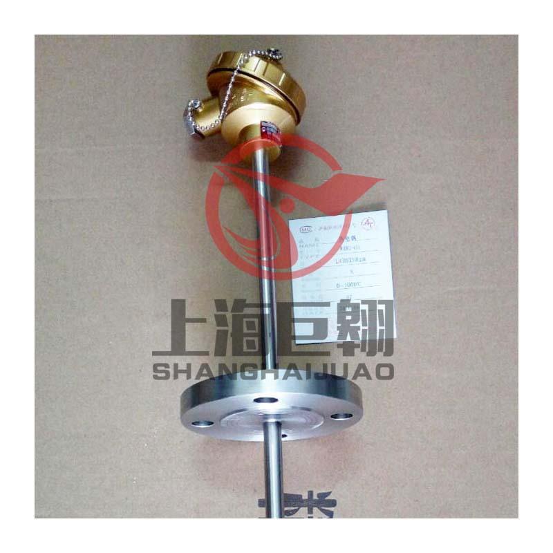 上仪WRN-230装配式热电偶 k型1300℃高温耐磨热电偶16mm 上海三厂