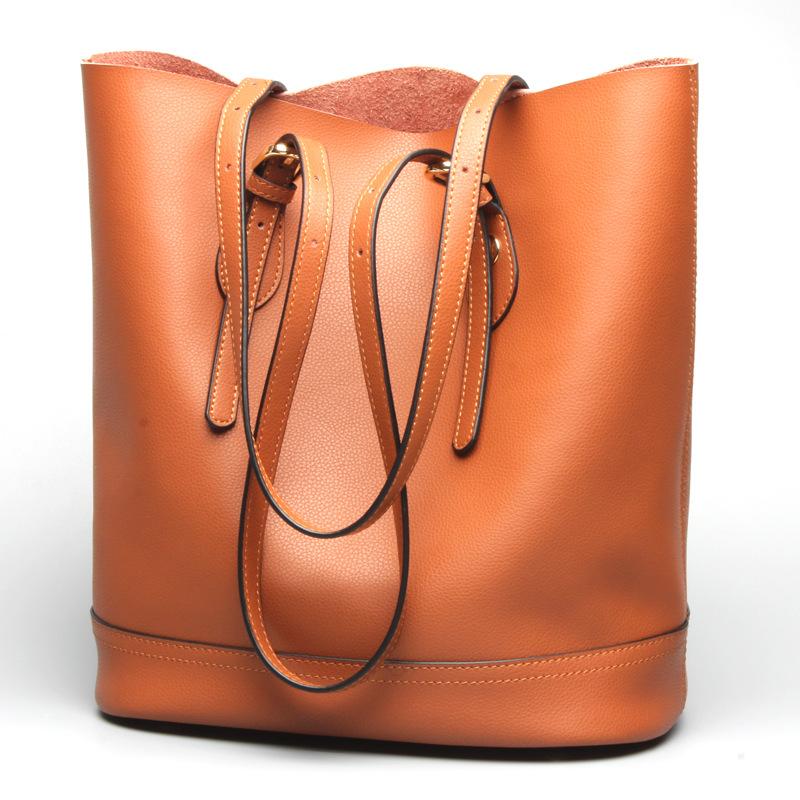 包包女2019新款托特包时尚水桶包女士单肩休闲包包手提包bags