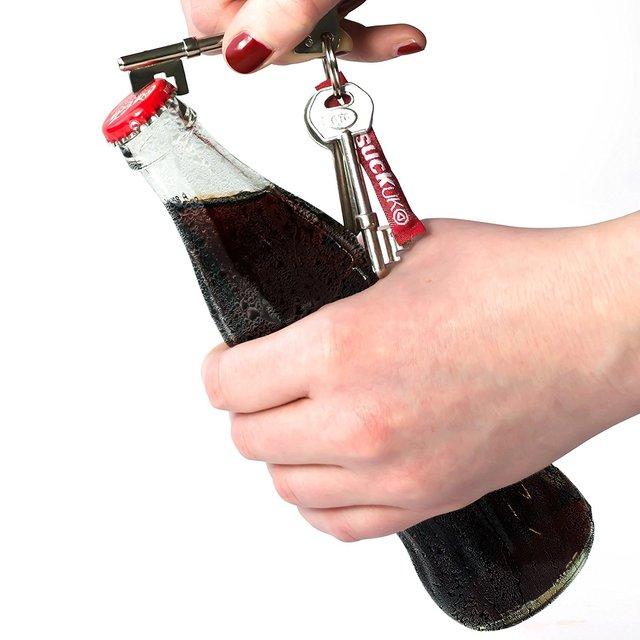 不务正业钥匙开瓶器 带钥匙扣不锈钢创意啤酒开瓶器 钥匙开瓶器