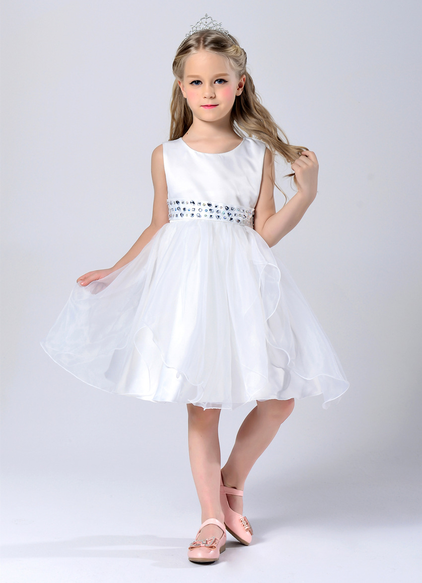 Kids Girls Party Princess Dresses Children Clothing For Girls