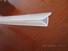 供應硅膠密封條 透明環保食品級硅膠密封條 硅膠發泡密封條