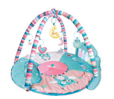 HX11200-A round mat baby play piano gym mat toy