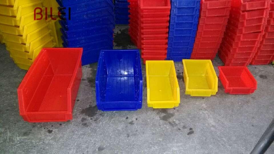 B4#全新料加厚零件盒周转箱物料盒螺丝盒配件箱塑料盒料盒斜口盒