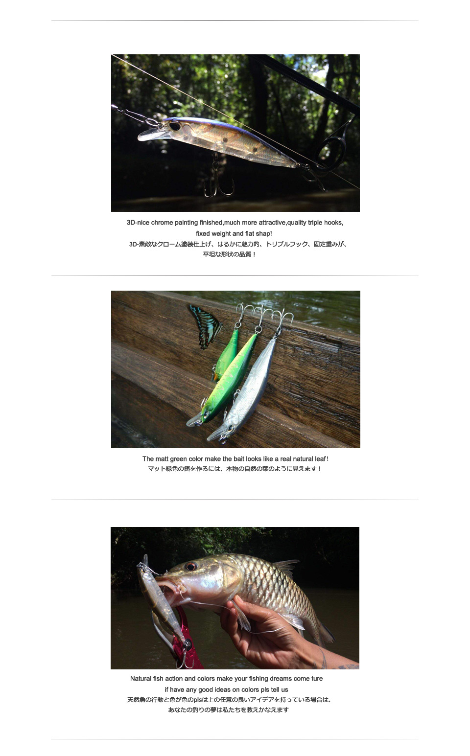 Bearking 10cm 15g hot model fishing lures hard bait 14color for choose minnow,quality professional minnow depth0.8-1.5m