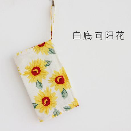 Q01 nhà máy bán buôn trực tiếp phụ nữ gốc vải sáng tạo ví ví tiền túi điện thoại di động túi tiền xu túi nữ
