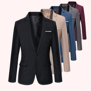 New spring 2017 men's casual suit Slim models small suit jacket Korean version of the trend of men's T-shirt wil