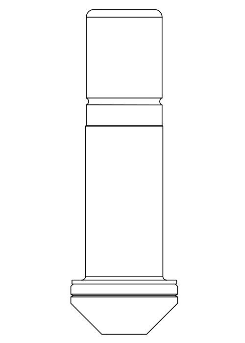 阀芯2202S,ODS铜管内连接焊接接头