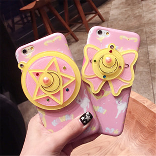 Apple iphone8 Mobile Shell Cartoon Thủy thủ Mặt trăng Pentagram Apple 8 Gương IMD Case