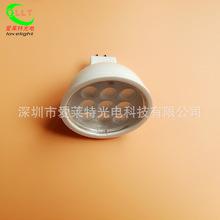 LED灯杯4W 低压灯杯DC12-36V通用 MR16贴片LED射灯 工程展柜专用