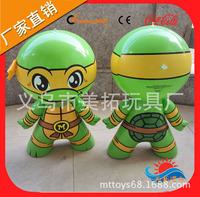 现货供应各种颜色充气忍者神龟 60CM高 可定做 加印LOGO