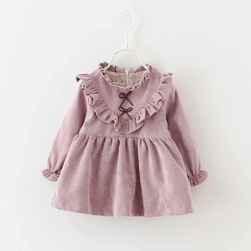 Toddler Infant Kids Baby Girls Winter autumn Dress ...