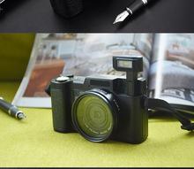 OEM微單數碼相機數碼攝像機美顏翻屏照相機特價廠家直供自拍單反