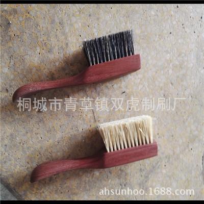 厂家批发红花梨猪鬃刷 赞比亚血檀高端金刚菩提保养长柄野猪鬃毛