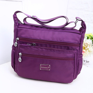 Factory direct sale outdoor leisure waterproof messenger bag mother bag support customized, drop shipping