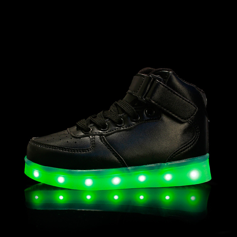 Kids sneakers with light up