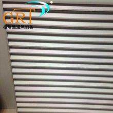 厂家定制外墙百叶窗 铝合金防雨百叶风口 双层防雨百叶